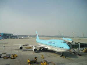 韓国飛行機