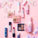 エチュードハウス春の新作は桜!アイシャドウやリップのカラーや発色は?日本で買える?