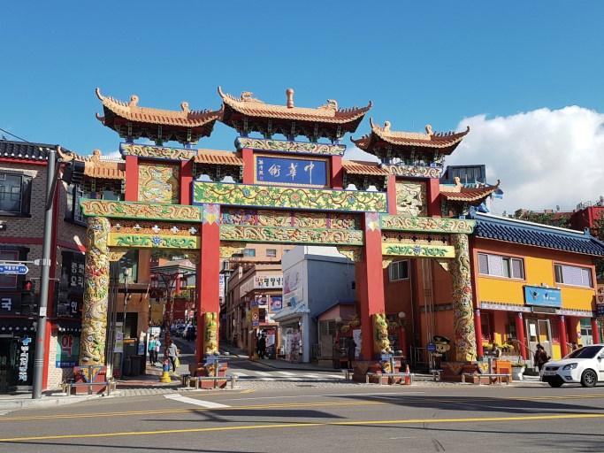 韓国仁川中華街