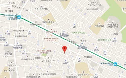 シャロスキルカフェ温故知新場所