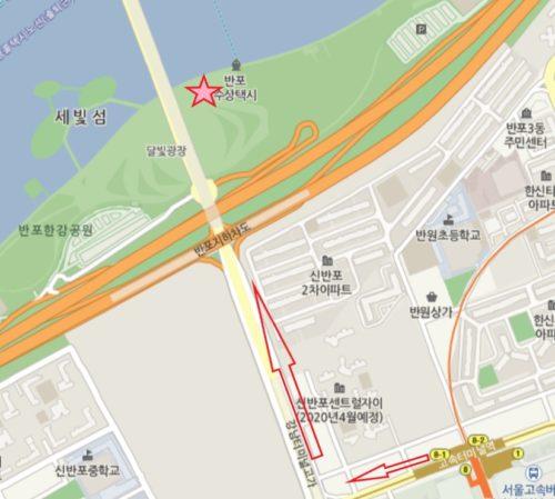 盤浦漢江公園レインボー噴水