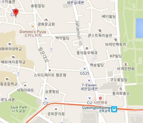 ソチョンカフェ風流館5
